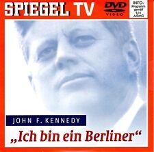 """John F. Kennedy """"Ich bin ein Berliner"""" / NEU - DVD / Spiegel TV 39"""