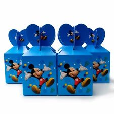 Kids  6pcs Mickey Mouse Candy Sweet Treats Box Children Kids Party Gift Supplies