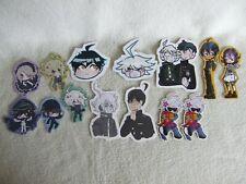 More details for uk seller danganronpa v3 shuichi saihara kiibo amami ouma stickers set ex cond