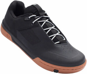 Crank Brothers Stamp Lace Men's Flat Shoe - Black/Silver/Gum, Size 9.5