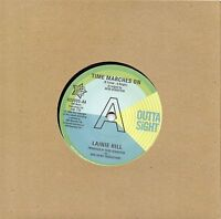 LAINIE HILL-TIME MARCHES ON/KENNY WELLS-ISN'T IT JUST A SHAME UK OUTTASIGHT DEMO