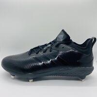 Adidas Adizero Afterburner Metal Baseball Cleats Black Mens Size:12 AQ0085