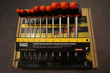 Klein Tools JTH610EB SAE Ball-End Journeyman T-Handle Set w 6-Inch Stand, 10-pc