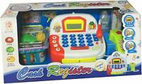 Children's Toy Cash Register  - Pretend and Play Kid's Till with Play Money