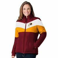 Washington Redskins - NFL Women's Slap Shot Polyester Jacket by G-lll - NEW