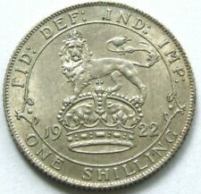 More details for 1922 silver shilling in superb condition - free postage (120v)
