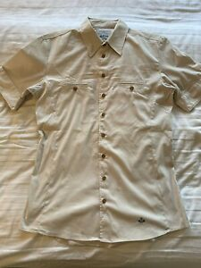 Vivienne Westwood Mens Shirt Safari V 4 Medium Ivory Slim