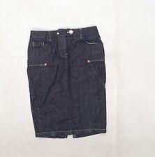 Ware denim Womens Blue  Denim Straight & Pencil Skirt Size 8