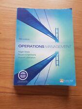 Operations Management by Prof. Nigel Slack, Robert Johnston, Stuart Chambers (P…