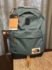 The North Face Daypack Backpack Brown Label One Size Blue New