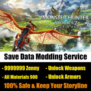 Switch Monster Hunter Stories 2 Wings of Ruin Mod, Get All Items, MHST 2 Eggs