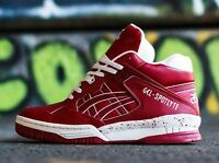 ASICS GEL SPOTLYTE H447L-5201 BASKETBALL SHOES BURGANDY 100% AUTHENTIC