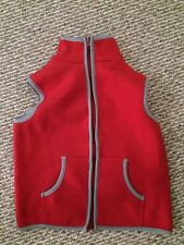 Women's Size Small Pink Fleece Vest Self Esteem Brand