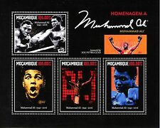 Mozambique 2016 MNH Muhammad Ali Tribute 4v M/S Boxing Sports Stamps