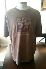 Primus Tour de Fromage 2004 Brown Shirt - Size XXL - Thrashed! Awesome!