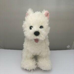 Build A Bear Westie Dog White Highland Terrier Puppy BAB Plush Stuffed Animal