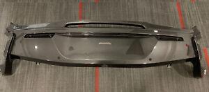 McLaren 570S Upper Rear Bumper Cover 13A3726CP OEM Grey Painted