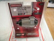 Craftsman Bolt-On ™ Impact Attachment Free Shipping New