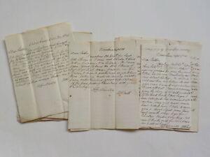 17 Antique Letters 1800s Vicksburg Mississippi Collection Lot VTG Papers USA Old