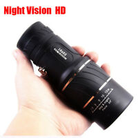 Super High Power 16X52 Portable HD OPTICS BAK4 Night Vision Monocular Telescope