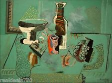 Vintage Picasso Print Large Format - Green Still Life 1914