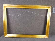 """*EXCEPTIONAL* GILT PAINTING FRAME signed HUSAR CHICAGO , fits 30 x 20"""" INCHES"""