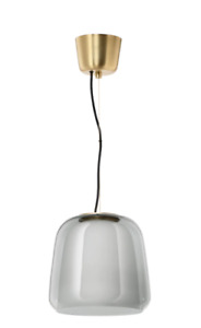 EVEDAL Pendant lamp, gray NEW FREE SHIPPING