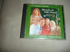 Miracle On 34th Street Valentine Davies Novel 2 Cd Audiobook NYS Theatre