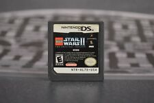 LEGO STAR WARS II THE ORIGINAL TRILOGY NINTENDO DS COMBINED SHIPPING