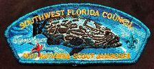 SOUTHWEST FLORIDA OA 564 2017 JAMBOREE PATCH GROUPER THOMAS KRAUSE ART 250 MADE!
