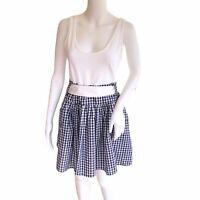 Topshop Annie Greenabelle Dress UK14 RRP £61 Organic Cotton Cottagecore EU42 NEW
