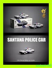 SEP 2019 #57 VW Volkswagen Santana China police Car 1:64 XCARTOYS