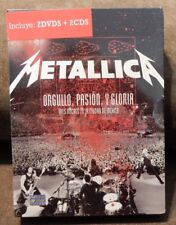 metallica orgullo pasion y gloria 2CD 2 DVD box set SEALED