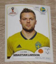 "Image Sticker PANINI #470 ""Sebastian LARSSON"" Sweden FIFA World Cup Russia 2018"