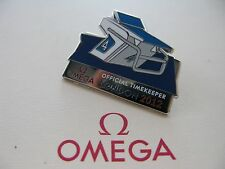 Brand New & Collectable Omega Swimming London 2012 Olympic Lapel Pin Badge