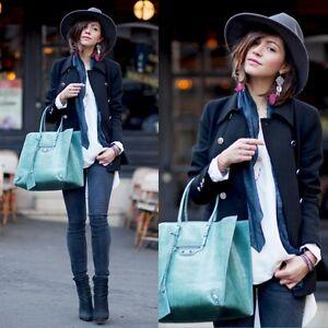 Zara Black Double Breasted Short Coat Size SMALL BNWOT