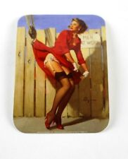 4x Aufkleber - Girl Cranes - (Sexy) ca. 9,5 x 7,00 cm - Sexy Pin Up Girl *Top*
