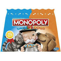 RARE Monopoly Cats Vs Dogs Hasbro Board Game US Import Brand New Kittens Puppies