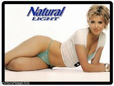 Natural Light Beer Sexy Blond Model Refrigerator Magnet