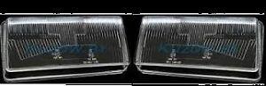 AUDI 80 B3 Headlight Glass Lens PAIR ( Left + Right ) 1987 - 1990