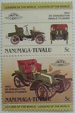 Single Car & Motoring Postal Stamps