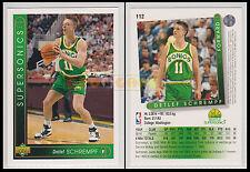 NBA UPPER DECK 1993/94 - Detlef Schrempf # 112 - Supersonics - Ita/Eng - MINT