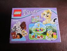 Lego New Box Sealed Friends 41088 Puppy Training 65 pcs ages 5-12 do play bone