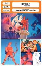 FICHE CINEMA : HERCULE - Donovan,Egan,Woods 1997 Hercules