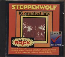 STEPPENWOLF - 16 Greatest hits - CD 1985 NEAR MINT CONDITION