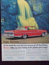 1961 Mercury Monterey Automobile Advertisement