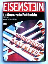 Dvd La Corazzata Potemkin di Sergei M. Eizenstejn 1925 Usato
