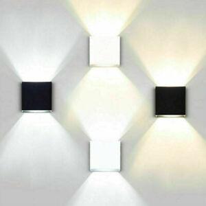 LED Wandleuchte COB LED Wandlampe Bad Garten LED Außenleuchte up-down Leuchte DE