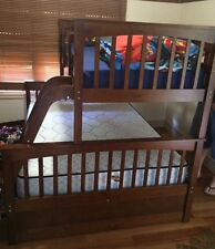 Bunk  Bed ONLY Double single Solid Kids  a/oak or white NEW IN BOX Limited Stk