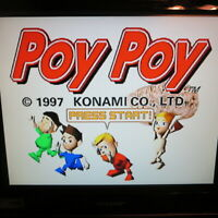 POY POY ✨Playstation PS1✨ USA Disc-Only - Nice Shape Play Tested ✨ Konami RARE!